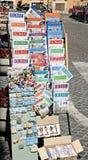 罗马,意大利游人 库存照片