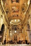 罗马,意大利, 2016年4月11日:内部和建筑细节 免版税图库摄影