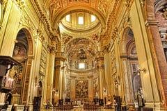 罗马,意大利, 2016年4月11日:内部和建筑细节 免版税库存图片