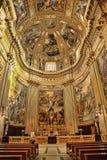罗马,意大利, 2016年4月11日:内部和建筑细节 库存图片