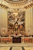 罗马,意大利, 2016年4月11日:圣安德鲁在十字架上钉死a 库存照片