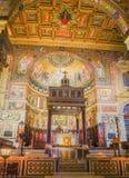 罗马,意大利2017年10月9日:教堂内部  免版税库存照片