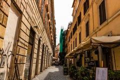 罗马,意大利- 2018年 Piazza di Spagna西班牙广场,罗马,意大利 西班牙步是最宽的楼梯在欧洲 免版税库存照片