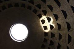 罗马,意大利- 2014年12月27日万神殿 免版税图库摄影