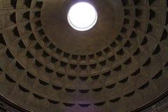 罗马,意大利- 2014年12月27日万神殿 免版税库存照片