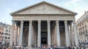 罗马,意大利- 2015年2月20日:万神殿在罗马,意大利 库存照片
