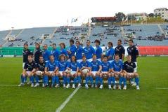 罗马,意大利- 2006年11月18日 橄榄球国际锦标赛意大利阿根廷 图库摄影