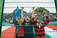 罗马,意大利- 2006年11月18日 橄榄球国际锦标赛意大利阿根廷 库存照片