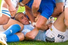 罗马,意大利- 2006年11月18日 橄榄球国际锦标赛意大利阿根廷 免版税图库摄影