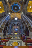 罗马,意大利- 6月01 :圣皮特圣徒・彼得的大教堂在梵蒂冈,罗马, 2016年6月01日的意大利 库存图片