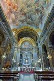 罗马,意大利- 6月01 :圣皮特圣徒・彼得的大教堂在梵蒂冈,罗马, 2016年6月01日的意大利 免版税库存图片