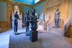 罗马,意大利- 6月01 :梵蒂冈博物馆在罗马, 2016年6月01日的意大利 免版税库存图片