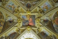 罗马,意大利- 6月01 :梵蒂冈博物馆在罗马, 2016年6月01日的意大利 库存图片