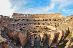 罗马,意大利- 6月01 :罗马斗兽场在罗马, 2016年6月01日的意大利 免版税库存图片