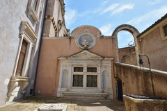 罗马,意大利- 6月01 :Castel Santangelo在罗马, 2016年6月01日的意大利 免版税库存图片