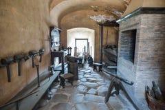 罗马,意大利- 6月01 :Castel Santangelo在罗马, 2016年6月01日的意大利 库存图片