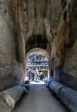 罗马,拉齐奥,意大利 2017年7月25日:罗马C的内部看法 库存图片