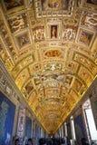 罗马,梵蒂冈博物馆 库存照片