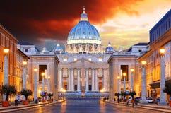 罗马,梵蒂冈 免版税库存照片
