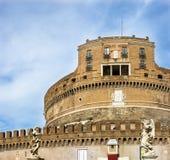罗马, Castel Sant Angello 图库摄影