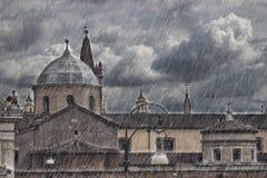罗马, Piazzale Flaminio 库存照片