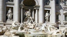 罗马,Trevi喷泉杰作  免版税库存图片