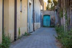 罗马:老街道 图库摄影