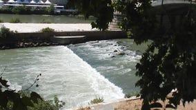 罗马-台伯河河的辔 影视素材
