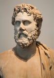 罗马-哲学家胸象从帕勒泰恩小山的从几年170 - 180 免版税库存照片