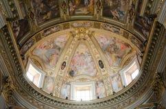 罗马 圣马尔塞洛教会 库存图片