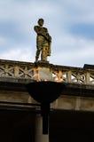 罗马浴在巴恩,萨默塞特,英国 库存图片