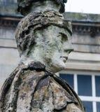 罗马浴在巴恩,萨默塞特,英国 库存照片