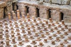 罗马浴在贝鲁特,黎巴嫩 免版税库存照片