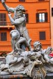 罗马-广场Navona 免版税库存图片