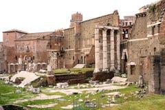 罗马-意大利的论坛 免版税库存照片