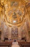 罗马-教会Basilica di Sant安德里亚della瓦尔圣所  库存照片