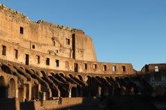 罗马12月26日2014年,意大利-罗马斗兽场 库存图片