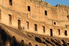 罗马12月26日2014年,意大利-罗马斗兽场 免版税库存照片