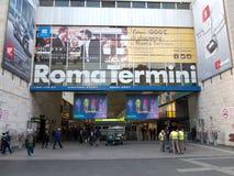 罗马终点 库存照片