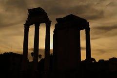 罗马-皇家论坛 库存照片