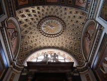 罗马-耶稣和玛丽教会的教堂  库存照片