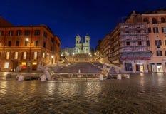 罗马 西班牙的正方形 库存图片