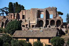 罗马-马戏Maximus 库存图片