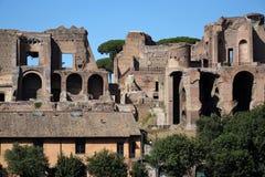 罗马-马戏Maximus 免版税库存图片