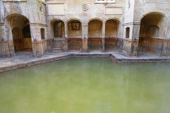 罗马浴,浴,英国 库存照片