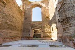 罗马- Caracalla thermae 免版税库存图片
