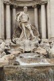 罗马- Fontana di Trevi 免版税图库摄影