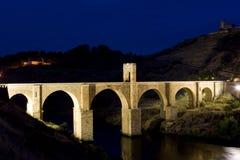 罗马alcantara的桥梁 免版税图库摄影