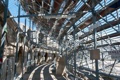 罗马amphitheate的arles 库存图片