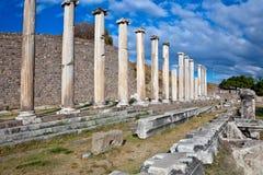 罗马asklepion的pergamum 免版税图库摄影